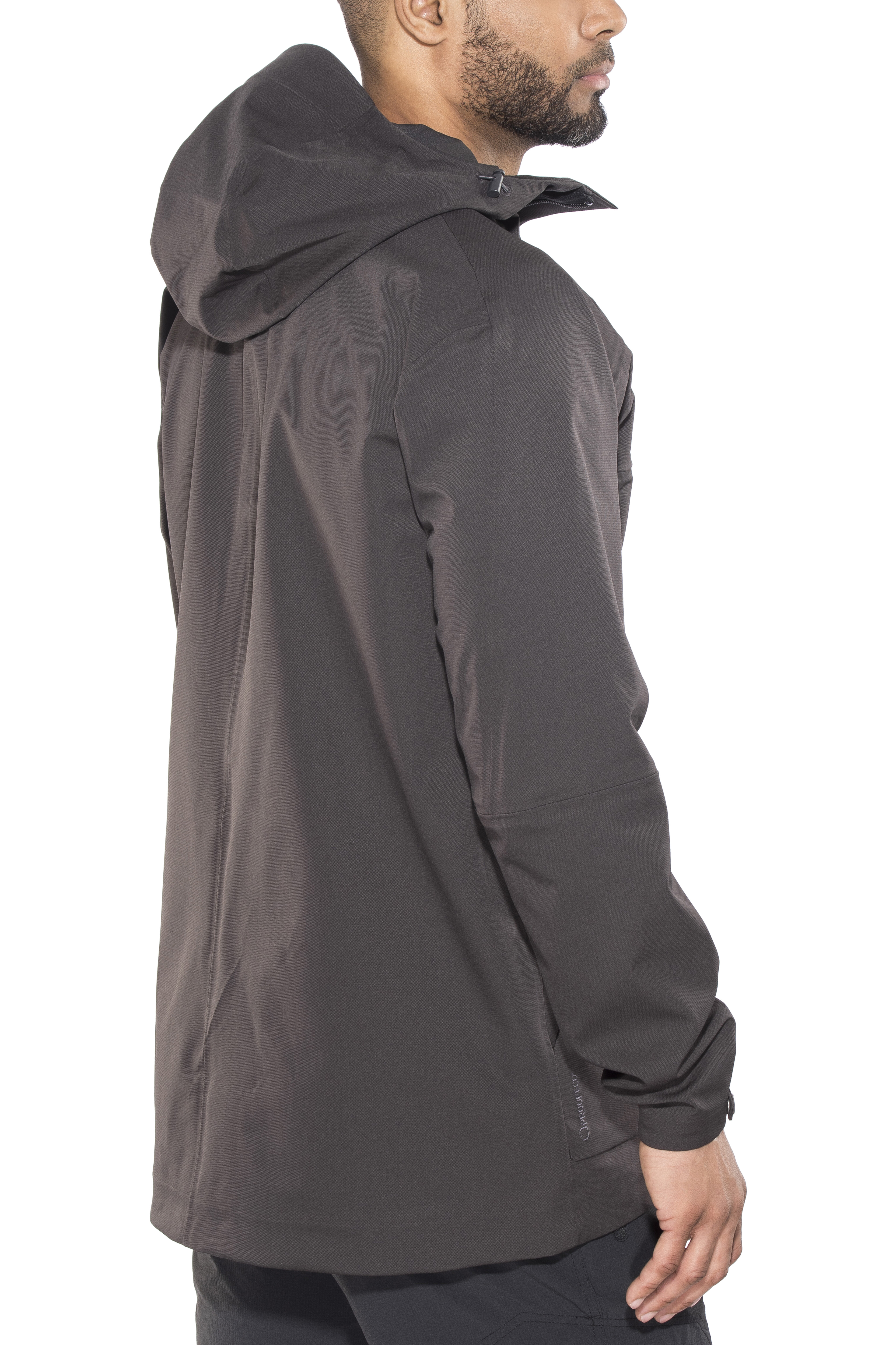 6103e3adbd4 Haglöfs Eco Proof Jacket Men grey at Addnature.co.uk